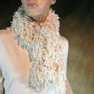 Winter White Scarf